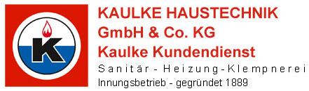 KAULKE HAUSTECHNIK GmbH Co. KG und Kaulke Kundendienst